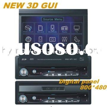 AUTO DVD GPS PIONEER  design 1din in dash BRAND NEW 3D GUI