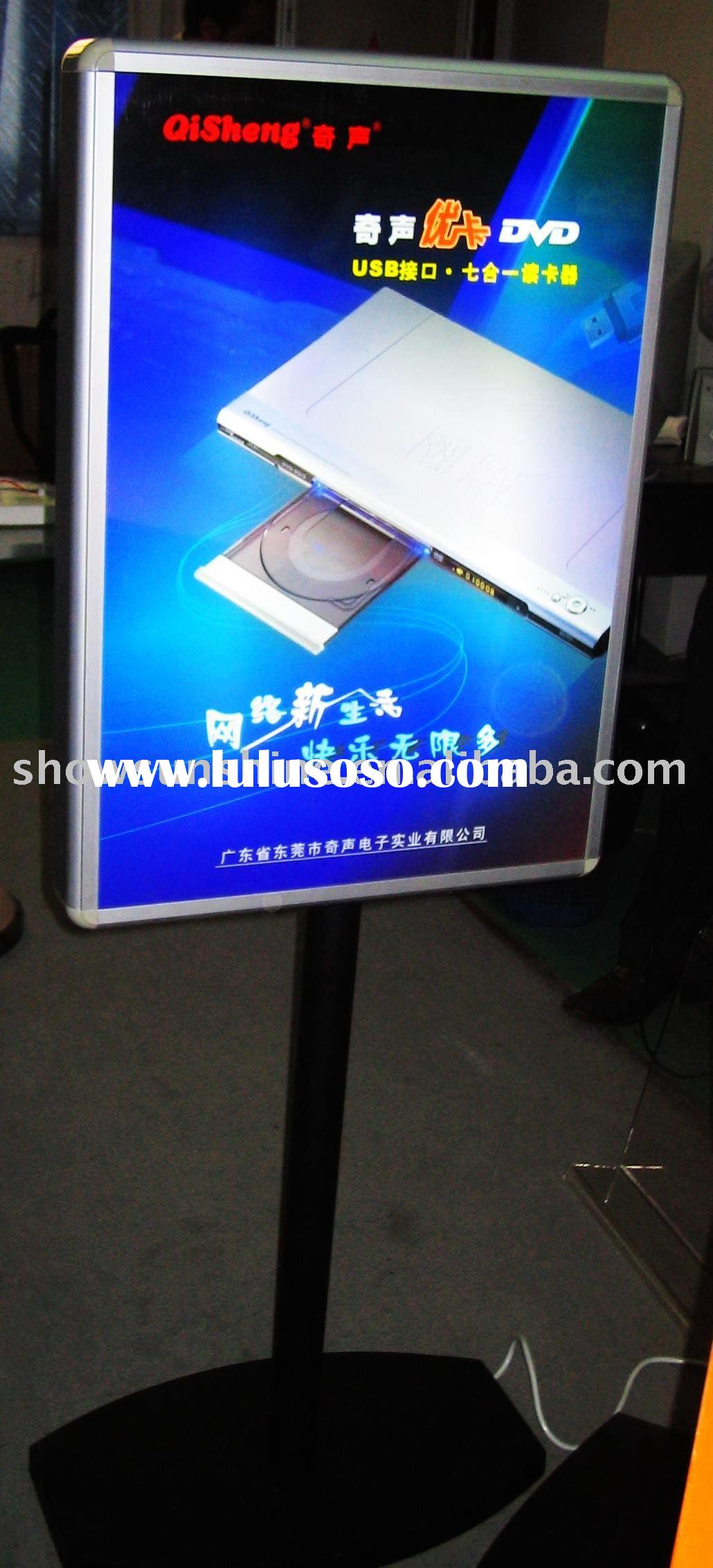 Advertising LED Light Box display stand