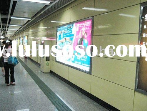 Aluminum Advertising LED Outdoor light box sign