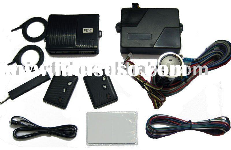 Car alarm- RFID Smart Key System with Engine start/stop button and Remote start
