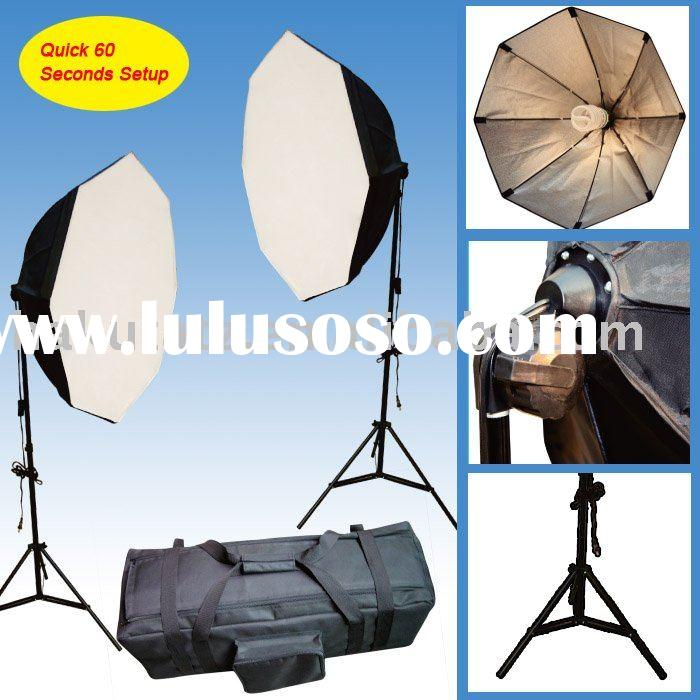 Digital Photo Film Video Continuous Softbox Lighting Kit
