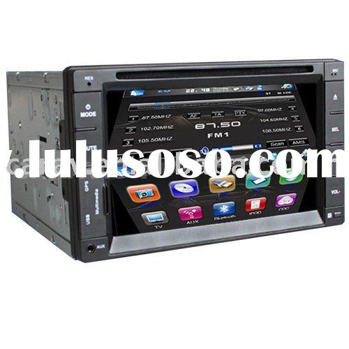 Double din 6.2 inch digital panel car dvd player