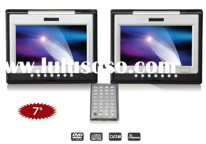 Dual 7 inch screen Portable DVD player