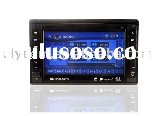 Dual car dvd player - 2 Din 6.2 Inch LCD Car DVD with Touch screen TV