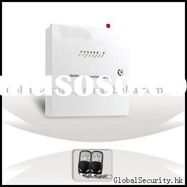 GSM security  with intercom and home appliance controlling alarm system