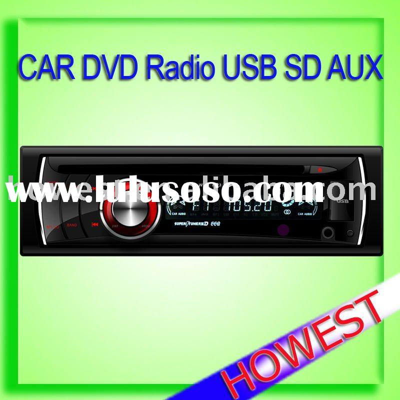In dash car dvd audio player support usb sd