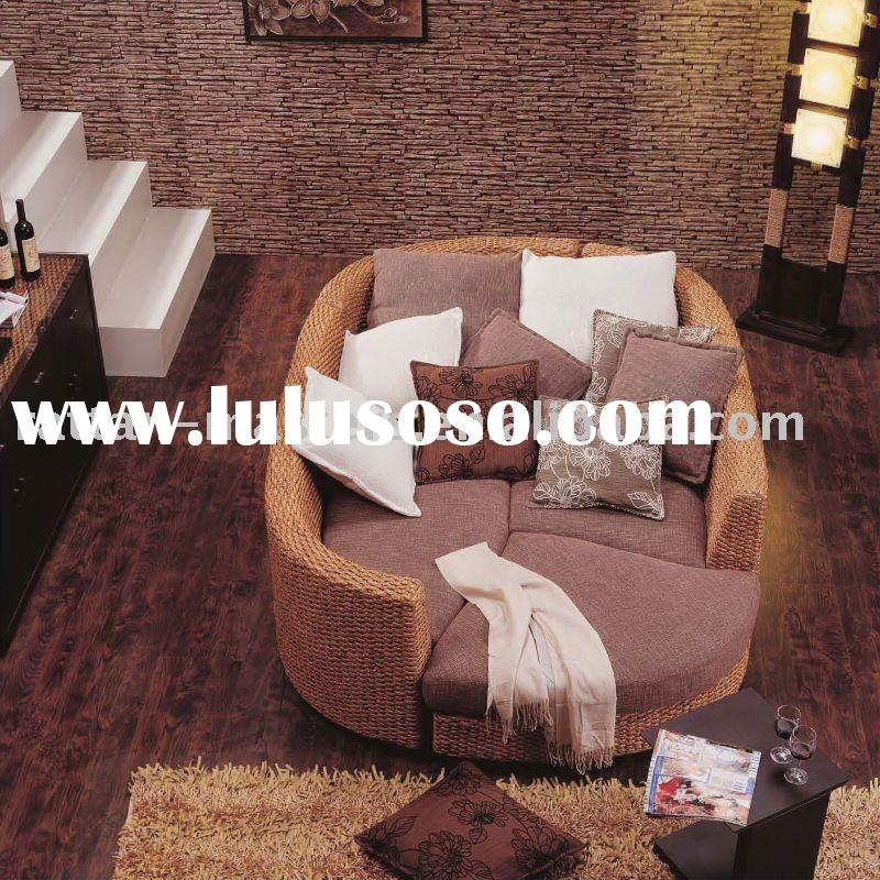 Modern new design rattan home sofa/hotel furniture