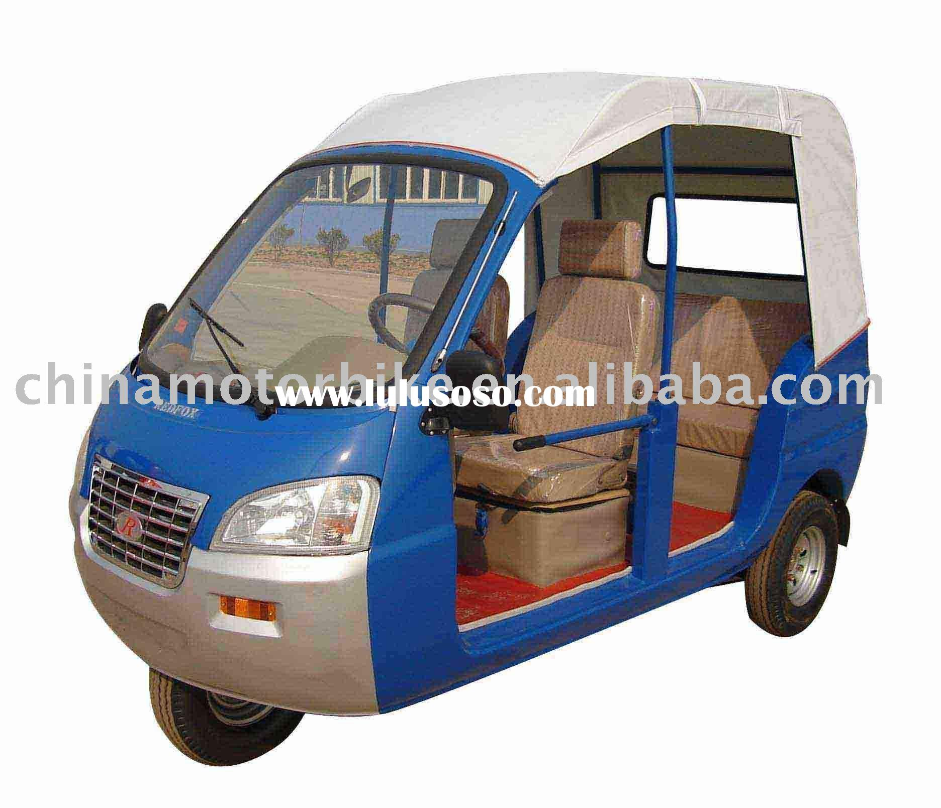 Motor tricycle, three wheel motorcycle,trike, auto rickshaw,tuk tuk