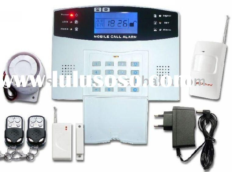 New GSM alarm system LED display with intercom & Voice