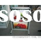 OUTDOOR ADVERTISING LIGHT BOX DISPLAY STAND