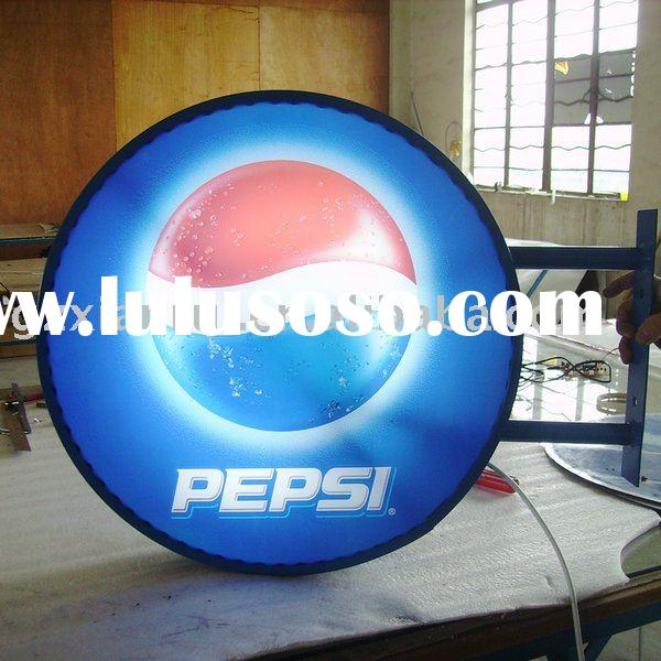 Pepsi Outdoor Light Box Signs