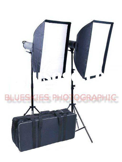 Photo Studio soft box lighting kit