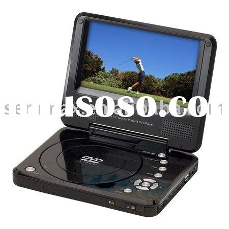 Portable DVD Player Holder with Built-in Stereo Speakers