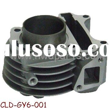 Scooter cylinder,GY6-50 parts Cylinder Block,motorcycle engine parts