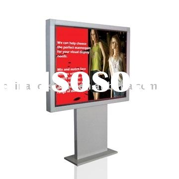 Scrolling Light Box Display Stand