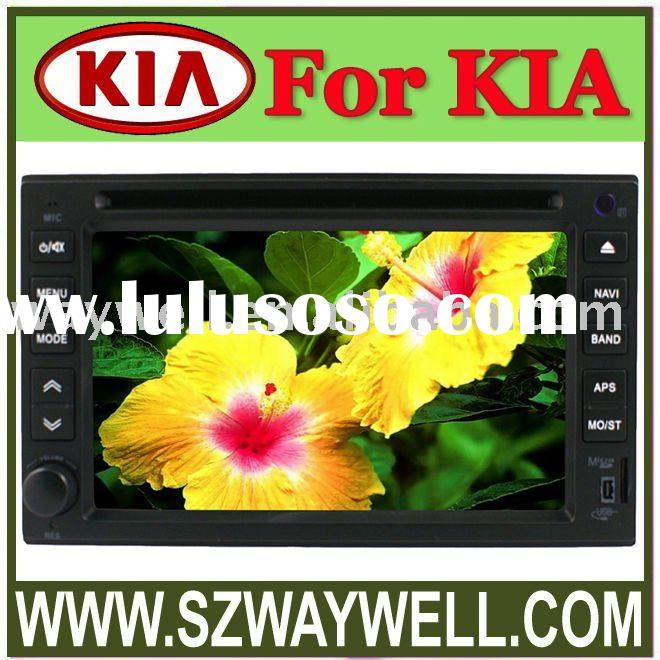 Special Car dvd player  for KIA Cerato, Carnival, RIO with built in GPS bluetooth and IPOD connector
