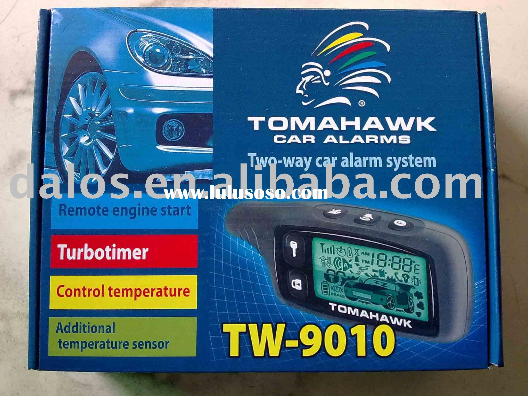 Special and promotion OEM Tomahawk two way car alarm system