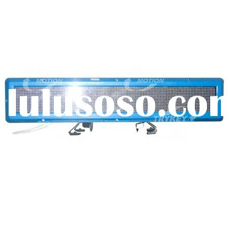 Taxi Advertising Light, Taxi Car Top Sign, Taxi LED Light on car topper