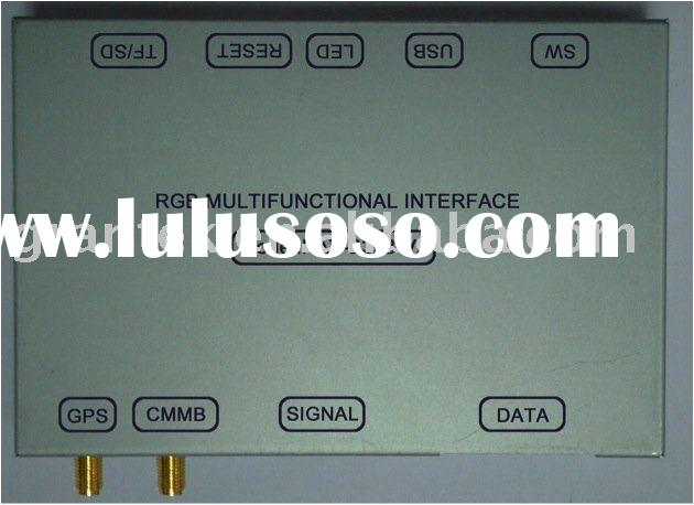 Universal RGB Interface With GPS Receiver  FOR RGB DVD Player