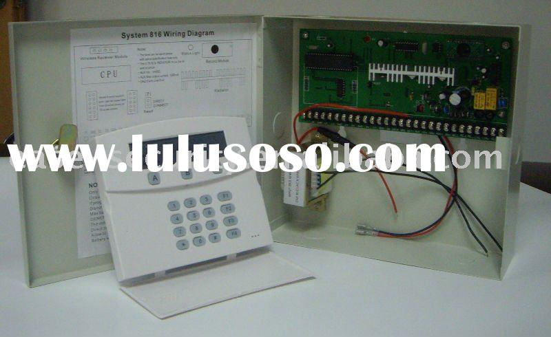 Wireless & wired Home alarm security system