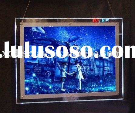 acrylic LED photo frame light box