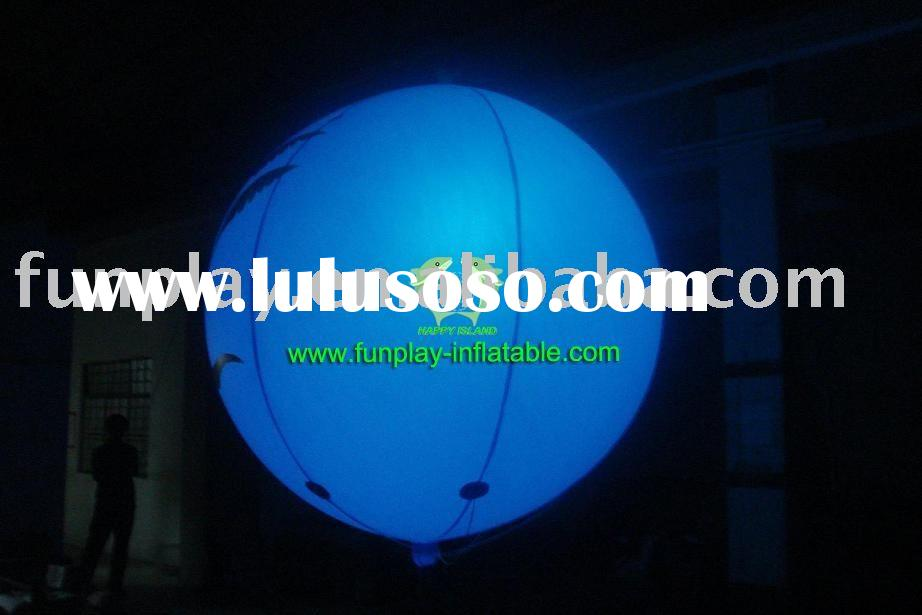 blimp/airship/advertising inflatable balloon/light/lighting