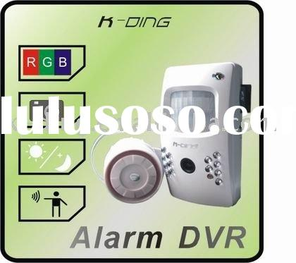 consumer electronics+guarantee one year+alarm dvr with CE
