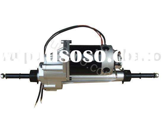 electric scooter transaxle motor