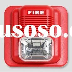fire alarm,DC12V rated voltage,280mA power consumption,120dB sound level,ABS housing