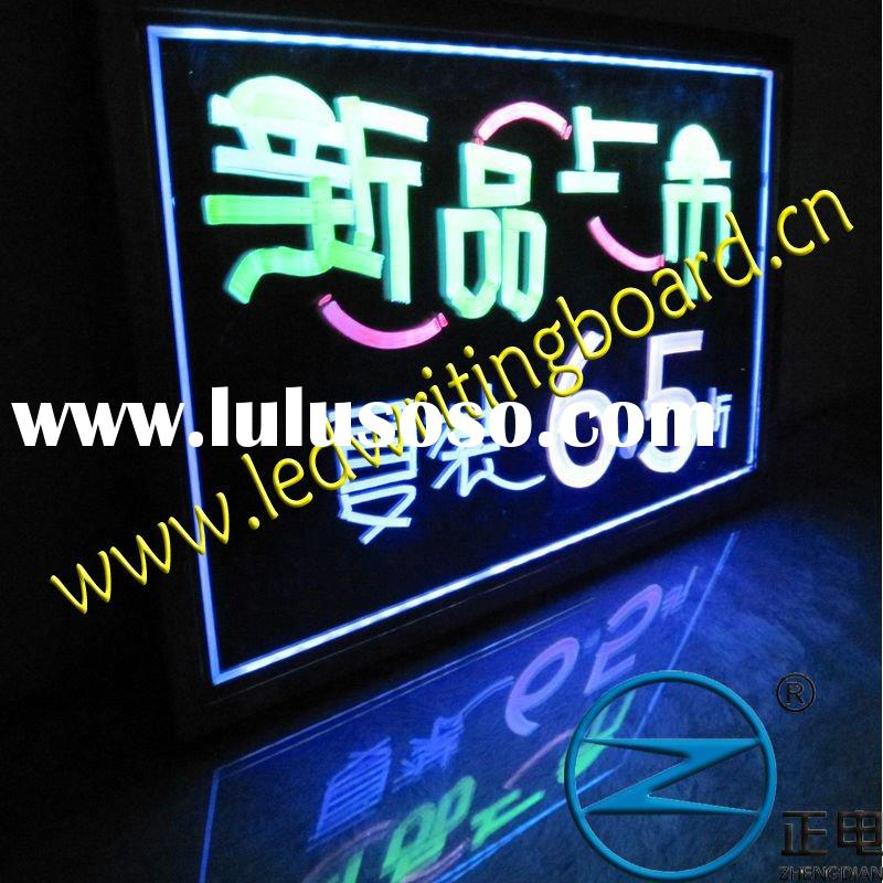 flashing LED message board for advertising