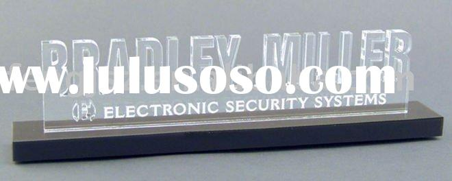 frosted acrylic LED sign