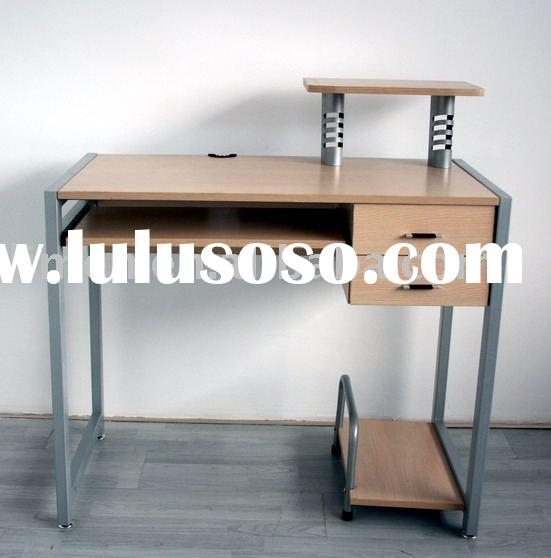 modern wood and metal computer desk,office desk,home office furniture