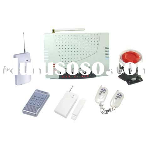 personal wireless home gsm alarm system + 3 relay