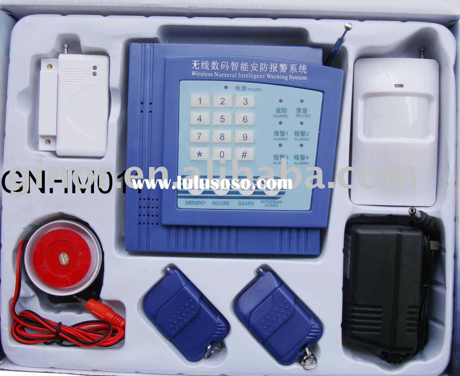 wireless alarm system/home security system