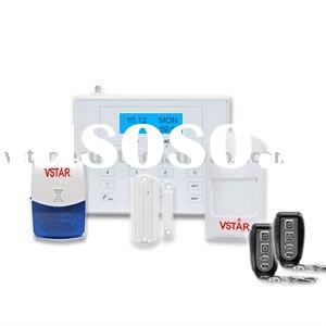 wireless cctv systems GSM House Alarm System(White Color)