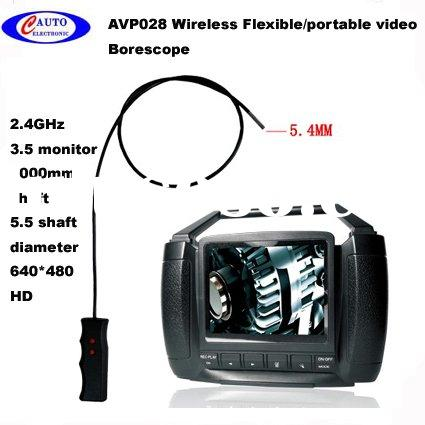 wirelsss flexible Video Borescope for automobile  avp028B