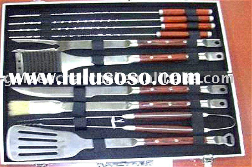10 PCS HOT Sale  BBQ tool set/best for outdoor bbq