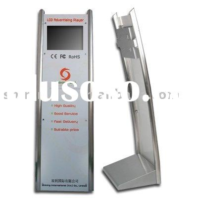 15 inch advertising kiosk with acrylic painting board/stand lcd kiosk