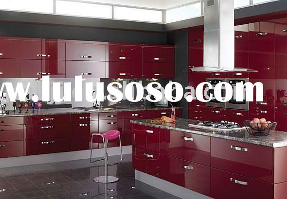 2011 Supply kitchen cabinets Model-3174 HIGH GLOSS ( Highest Quality & Fuctional Hardware Fittin