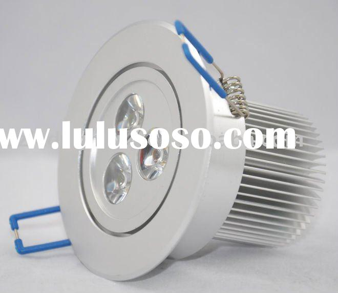 3W /6W/ 9W cree led recessed downlight