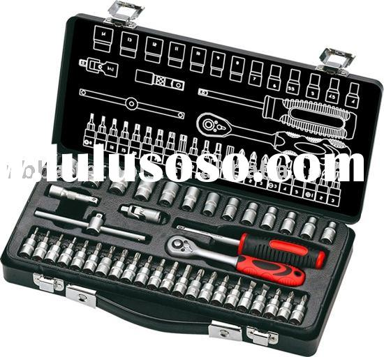 40pc Bit Socket Mechanical Hand Tool Set