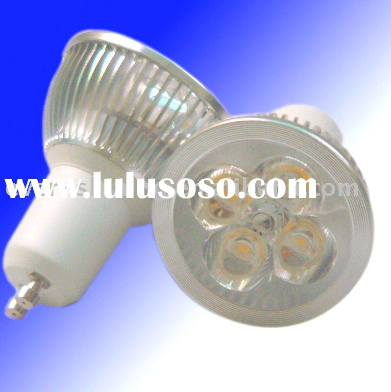 4W LED Downlight with MR16, GU10, E27, B22 bases