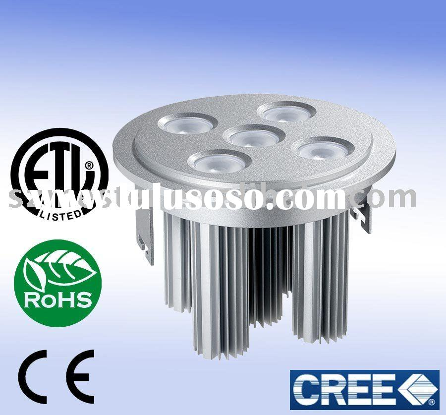 5W energy saving dimmable led downlight (recessed light)
