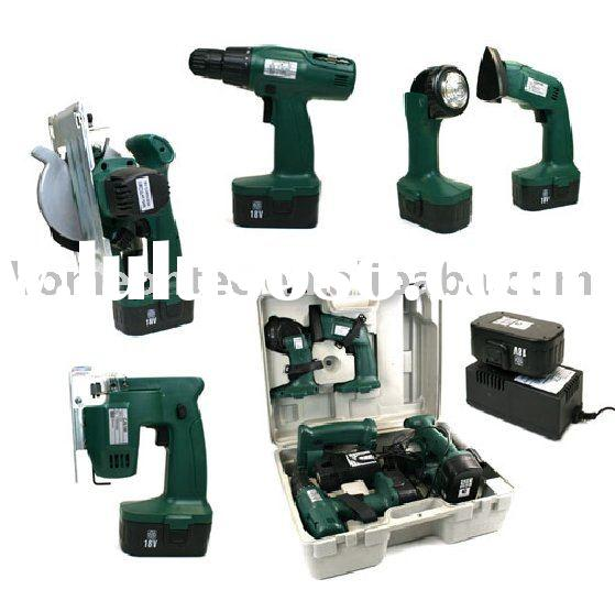 5 in 1 cordless tool set