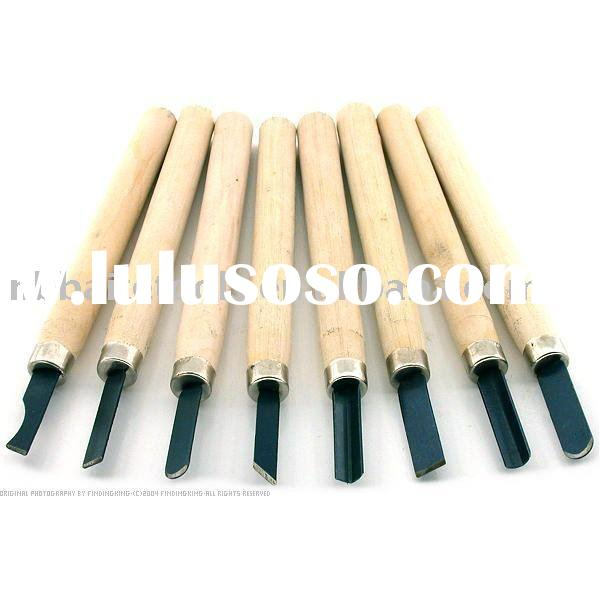 8pc Wood Carving Chisel Tool Set