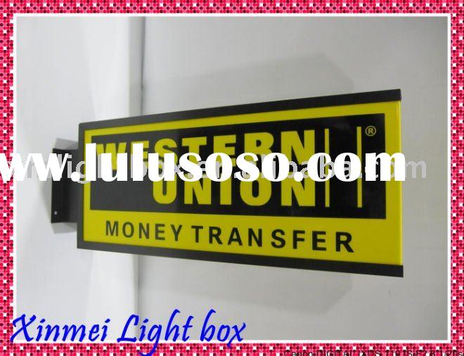 Advertising handicraft/sign box/lightbox/display signage