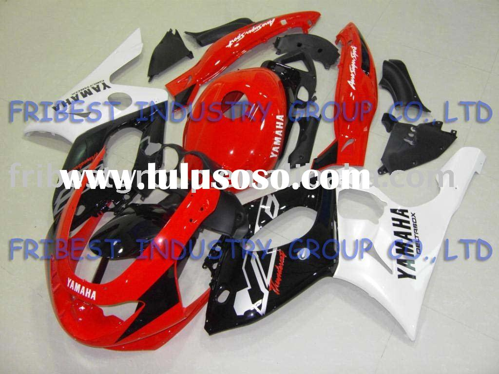Aftermarket complete set motorcycle fairings kit for YAMAHA YZF600R 1997 1998 1999 2000 2001 2002 20