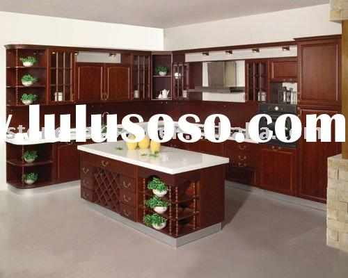 American Standard Solid Wood Kitchen Cabinets with Granite Countertop