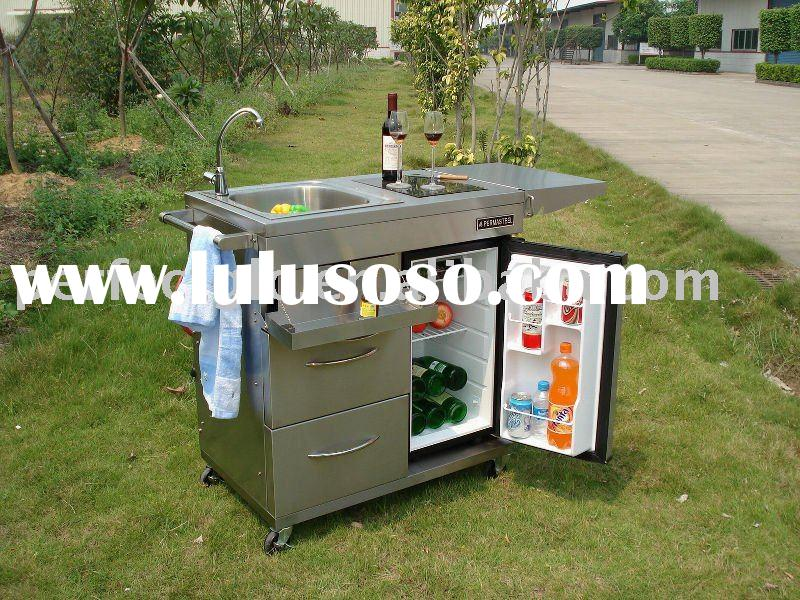 outdoor kitchen serve cart for sale price china