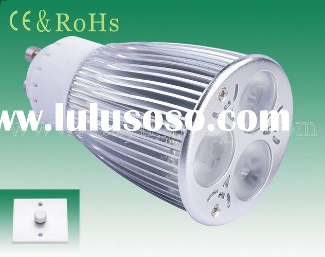 Dimmable high bright 500Lm high power LED downlight